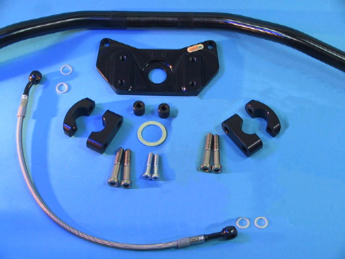 EX500A /'93 Fz-typ LSL Superbike Lenker Umbau-Kit für Kawasaki GPZ 500-S /'88