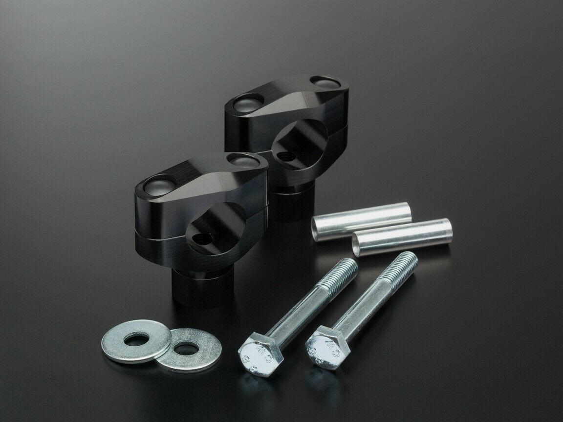 ABM-Klemmbock-Booster-KAWASAKI-ZRX-1100-97-99-Fz-Typ-ZRT10C-schwarz-274122814391